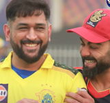 Virat Kohli Hugs MS Dhoni From Behind After RCB Loses To CSK | Oneindia Tamil